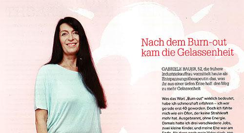 "Nach dem Burnout... Juni 2013 - im Magazin ""myway"""